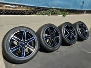 2021 22 Ford Expedition / F150 Black Oem Factory Wheels Rims Limited
