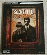Silent Hill Homecoming Strategy Guide Brady Games Xbox 360 Ps3 W/ Poster