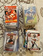 Football Cards Wide Receivers Various Teams Players And Years Lot Of 111