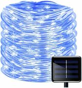 Kingcoo 100 Leds Solar String Fairy Lights Waterproof 39 Ft / 12 M Copper Wire