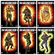 🔥walking Dead All Out War Cgc 9.8 Set Of 6 Sdcc Exclusive + Megabox Variant🔥