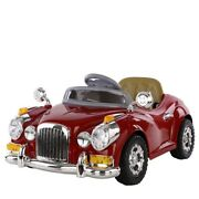 Childrenand039s Electric Car With Remote Control Dual Drive Classic Cars Kids Toys
