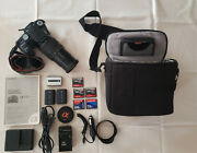 Sony Dslr-a100 Camera, 18-200 Lens, 5-memory Cards, 3-batteries 2-chargers, Car
