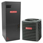 Goodman - 2.5 Ton Cooling - Air Conditioner + Variable Speed Air Handler Kit ...