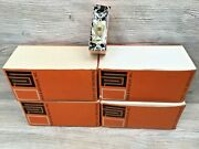 New Vintage 40 Pass And Seymour Ivory 501-1 Single Pole Switches 15a-120/277v Ac