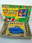 Vintage 1961 Kenner Give A Show Projector And Slides Playset In Box Hanna-barbera