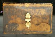 Antique Dutch Pocket Bible New Testament 19th Century 1884, Leather With Clasp