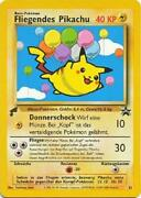Flying Pikachu -25- Pokemon World Collection German Tail Stamp New 2gq