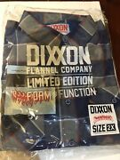 Dixxon Hatebreed Flannel - 2xl Limited Edition Rare With Tags In Hand Sold Out