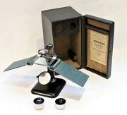 A Rare Soviet Russian Dissecting Microscope Microscopy Dated 1935