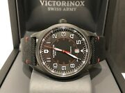 Watch Victorinox Swiss Army - Airboss Black Edition Ref. V241720 - Box And Papers