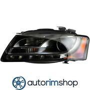 Left Driver Side Headlight Lens And Housing For 2008 - 2012 Audi S5 Au2502161