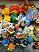 Fisher Price Little People Mixed Lot,tractors, Manager Scene, Princess,+figures