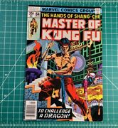 Master Of Kung Fu 64 1978 Marvel Shangchi Gulacy Newsstand Low Grade
