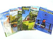 Farm And Ranch Living Magazine 2013 Lot Of 5 Horses Barns Cattle Farming Ranching