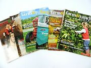 Farm And Ranch Living Magazine 2014 Lot Of 6 Horses Barns Cattle Farming Ranching