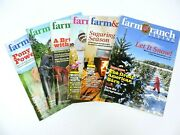 Farm And Ranch Living Magazine 2016 Lot Of 6 Horses Barns Cattle Farming Ranching