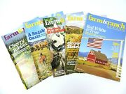 Farm And Ranch Living Magazine 2015 Lot Of 5 Horses Barns Cattle Farming Ranching