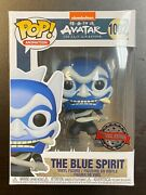 Funko Pop Avatar Last Air Bender The Blue Spirit 1002 Special Edition Exclusive