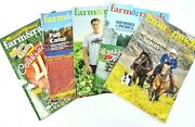 Farm And Ranch Living Magazine 2018 Lot Of 5 Horses Barns Cattle Farming Ranching