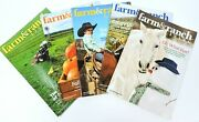 Farm And Ranch Living Magazine 2019 Lot Of 5 Horses Barns Cattle Farming Ranching