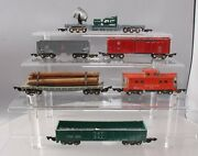 American Flyer Postwar S 632 7210 633 631 630 And Other Freight Cars [6]