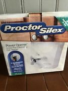 New - Proctor Silex Under The Cabinet Electric Power Can Opener 75400