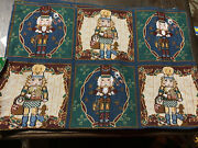 New Set Of 4 Christmas House Nutcracker Tapestry Cloth Placemats 13x19 Nwt