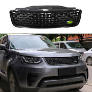 For Land Rover Discovery 5 2017-2020 Black Front Bumper Center Hood Grill Mesh