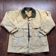 Vintage Cc Filson Double Logger Coat Jacket Duck Hunting Barn Xl Faded Patch