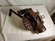 Antique Corn Sheller/husker Cs3 And Usa On It Plus Other Markings, Turns