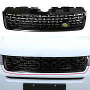 Fit For Discovery Sport 2015-2019 Black Front Bumper Center Hood Grill Mesh 1pcs