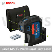 Bosch Gpl 5g Professional Green Point Laser Compact 5-point Laser Ip65 2021 New