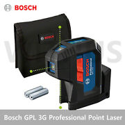 Bosch Gpl 3g Professional Green Point Laser Compact 3-point Laser Ip65 2021 New