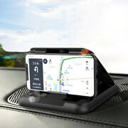 Dashboard Phone Holder Car Dash Cell Phone Mount Stand Silicone Accessories