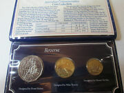 1988 Bu Australian Coin Set 2 1 And 50 Cents First Year Of The Two Dollar Coin