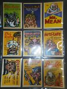 1960 Foney Ads Complete72 Card Set Leaf Rare Pre Dates Wacky Packages