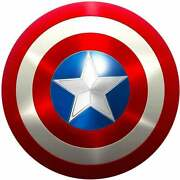 Marvels Avengers Legend Captain America Shield Halloween Medieval Coplay Gift
