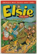 Elsie The Cow 3 D.s. Publishing August 1950 Humor Comic Advertising Promotion
