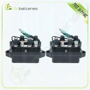 2pcs Trim Relay For Yamaha Outboard 40hp 85hp 90hp 6h1-81950-00 6h1-81950-01
