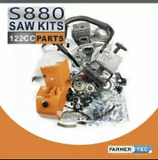 Farmertec Complete Repair Parts Kit For Stihl Ms880 088 880 Chainsaw Bluesaws