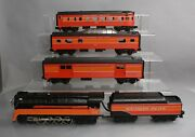 Mth 30-1526-1 O Sp 4-8-4 Imperial Gs-4 Northern Steam Passenger Set Set Of 5
