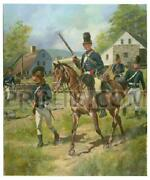 Don Troiani 16th Queenand039s Light Dragoons 1777-1778 Canvas Giclee