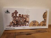 Walter E. Disney Train Wood Model Puzzle By Ugears Toy Disney Parks New