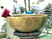 20 Inch Flower Of Life Singing Bowl- Seven Chakra- Standing Bell-yoga- Bowls