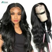 13x6 Hd Lace Frontal Human Hair Wig Body Wave Lace Closure Wigs Transparent Wigs