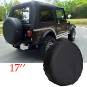 Spare Tire Cover Fit For Jeep Wrangler 17inch Size Xl Wheel Tire Cover 31-33