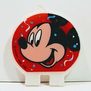 Birthday Candle Mickey Mouse