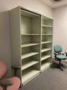 Tall Open Frame Lab Storage Cabinets 3' Wide