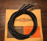 Harley Aermacchi M50 M65 S Complete Cable Set - Shifter Throttle Brake Clutch